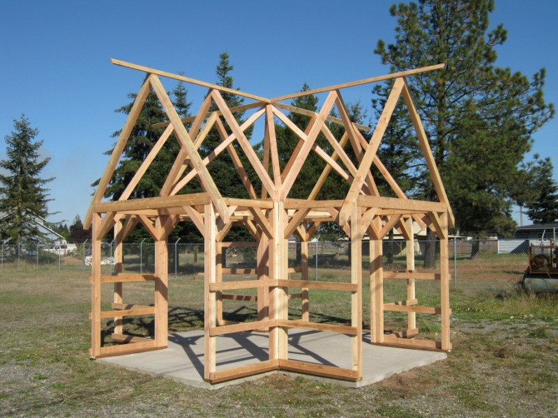 Timber frame kit for Timber frame cottage kits